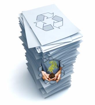 reciclarea hartiei importanta